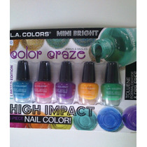 Kit Esmaltes Importados La Colors High Impact (2 Tipos)