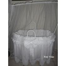 Berço De Bebe Desmontavel Com Protetor Mosqueteiro E Colchão