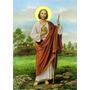 Santinho - Milheiro - São Judas Tadeu - A Cores