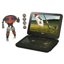 Dvd Portátil Bak Tela 11¨ Lcd Usb Divx Tv Mp3 Game Bolsa