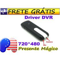Pen Drive Espiao Camera Video E Audio Hd - Frete Gratis