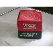 Kit Cilindro / Pistao / Anel Mobylete 50 Cc - Wgk (11248)