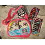 Monster High Bolsa Crossbody + 2 Lip Balm Monster High