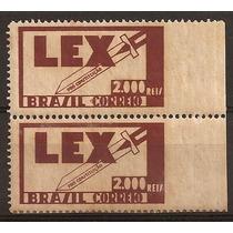 Variedade-para Selo 54-lex-sem Picote Lateral-com Goma Escur
