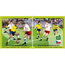 Lindo Conjunto Selos Do Brasil - Futebol - Copa Do Mundo !!!