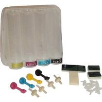 5 Kits De Reservatório Externo Tanque Bulk Ink 4 Cores 90ml