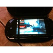 Psp 1001 Desbloqueado + Case + Cartão 2 Gb + Carregador .