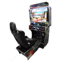 Maquina Simulador Corrida Arcade / Lcd 32