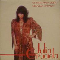 Julia Graciela Compacto De Vinil Eu Deixei Minha Terra 1980