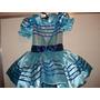 Vestido Infantil Em Cetim C/ Forro Em Tule Engomado 04