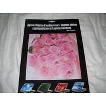 Notebook Adesivo Protetor E Decorador Tema Rosas Lindo!