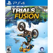 Trials Fusion - Jogo Ps4 - Mídia Física - Moto Playstation 4