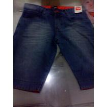 Kit 4 Bermudas Jeans Hollister Quiquisilver E Outras