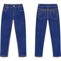 Calça Jeans Com Elasticidade Do 50 Ao 62, Sob Medida.