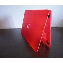 Case Macbook Pro Retina 13/13,3 Logo Vazado (vermelho)