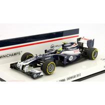 1:43 Bruno Senna Williams Fw34 Showcar Formula 1 2012