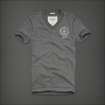 Camisetas Abercombrie Gola V 100% Original, Importado
