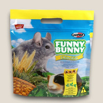 Ração Funny Bunny P/ Chinchila E Porquinho Da Índia.