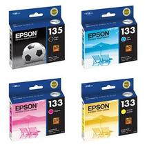 Cartuchos Epson T135 E T133 P/ T25 Tx123 Tx125 100% Original