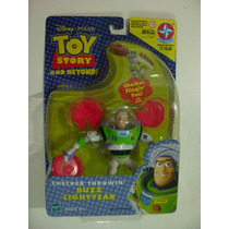 = Toy Store = Buzz Lightyear Lançador Discos Boneco Estrela
