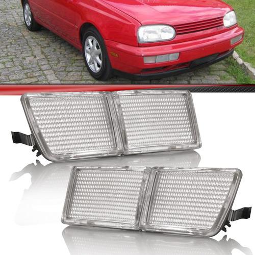 Aplique Defletor Golf 1995 1996 1997 1998 Parachoqu Mexicano