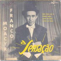 Disco Compacto Vinil Lp Moacyr Franco A Sensação