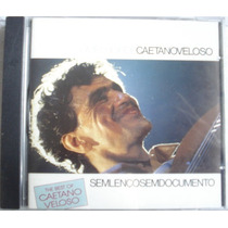 Cd Caetano Veloso Sem Lenço Sem Documento The Best Of