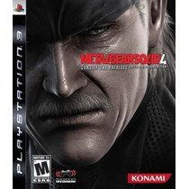 Metal Gear Solid Ps3 - Venda/troca #frete Grátis #