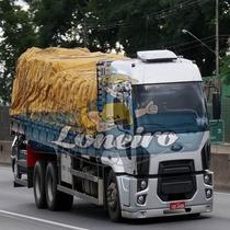 Encerado 8x7 Lona De Algodão Caminhão Truck Bitrem Ocre +iho