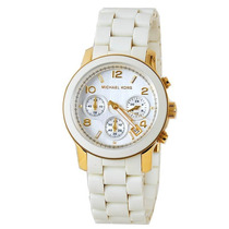 Relógio De Luxo Michael Kors Mk5145 Chronograph & Analógico!