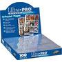 Plásticos 9 Bolsos Ultra Pro Silver Series - 10 Unidades