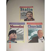* 3 Livros - Os Grandes Líderes Do Século Xx *