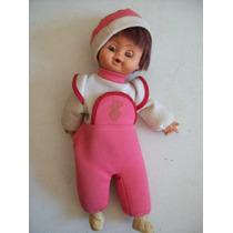 Boneca Tipo Fofolete Grande 33cm,bebê, Neném - Anos80;90