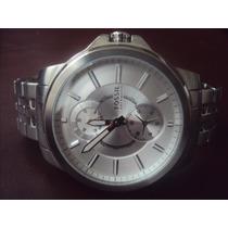 Relógio Fóssil Automático - Fundo Vazado - Masculino Enorme