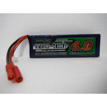 Bateria De Lipo Turnigy Nano-tech 3s 4000 Mah 12,6v / 25-50c