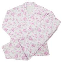 Pijama Palitó Feminino Florido Dove