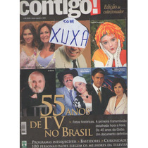 Xuxa Revista Contigo Colecionador 55 Anos Tv Xuxa