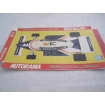Autorarama - Estrela Willians Senna 1994 Figura Da Base !!!