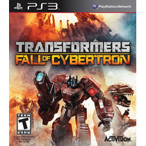 Jogo Transformers Fall Of Cybertron Lacrado Para Ps3