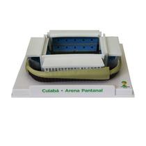 Miniatura Estádio Copa 2014 Arena Pantanal + Frete Grátis