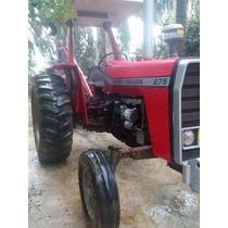 Trator Massey Ferguson 275 Com Carreta E Guincho