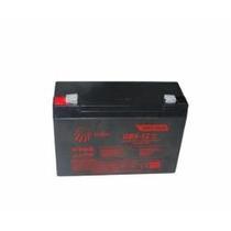Bateria 6v 12ah Recarregavel Moto Elétrica Carro Brinquedo