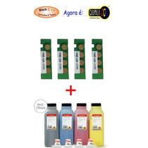 Kit Completo Recarga Samsung 406 Clp-365w / Clx-3305w / Fw