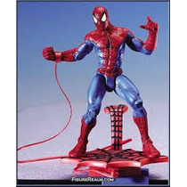 Spider Man Classics - Catapulting With Web Swinging Toy Biz