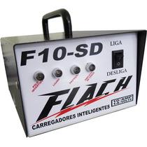Fonte Carregador Inteligente Flach 10sd Amper Som Carro Moto