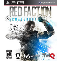 Red Faction Armageddon Ps3 Jogo Novo Original Lacrado