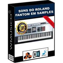 Samples - P/ Séries Roland Fantom, Yamaha Motif, Korg Triton