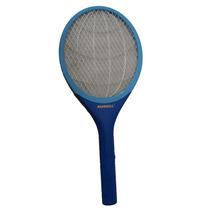 Raquete Elétrica Mata Moscas E Mosquitos Alfacell -pilha Aa