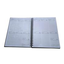 Miolo De Caderno Com Agenda Semanal 2014