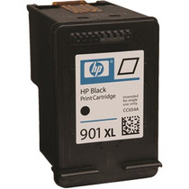 Cartucho Hp 901xl Preto ( Cc654al ) Com 25ml De Tinta